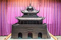 硬古代建筑模型