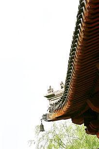 园林景观木塔屋檐