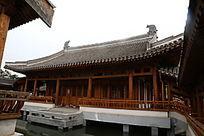 园林景观中式楼台