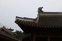 园林景观中式楼台飞檐
