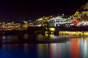 凤凰古镇彩色之夜