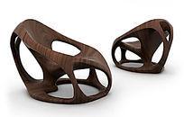 木质创意椅子