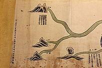 清代运河源流图雍正版