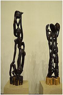 坦桑尼亚乌木艺术