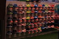 运动鞋货架