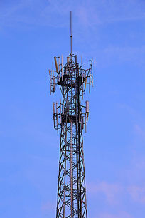 笔直的信号塔
