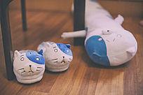 猫玩偶摆件
