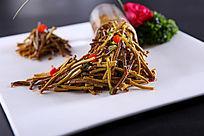 炝香豆腐丝