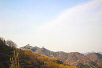 北京长城山脉风光摄影图