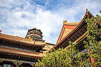 北京故宫宫殿传统老建筑