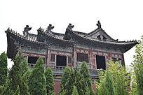 高大古建筑