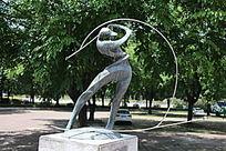 高尔夫铜雕