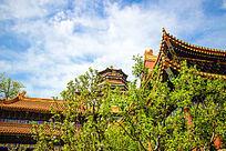 故宫中式建筑斗檐图片