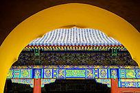 太和殿中式建筑风光