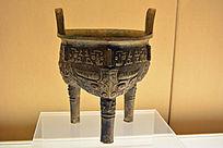 西周早期兽面纹青铜鼎