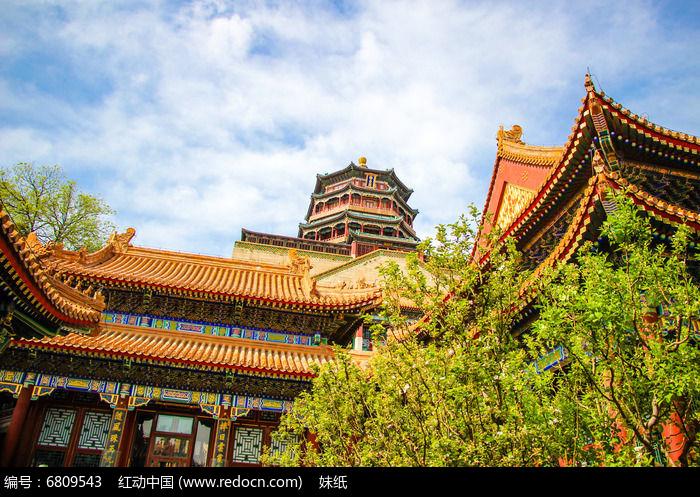 中式建筑北京故宫宫殿图片