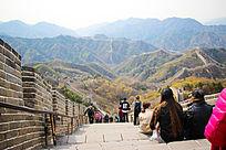 北京万里长城风景摄影图片