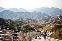北京万里长城风景图片