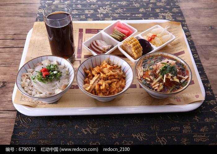 牛肉泡馍套餐图片