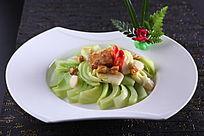 拍蒜咸鱼牛腩芥菜