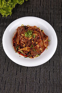中国菜拌肺片