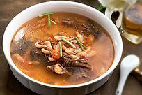 菜蒲头河虾汤