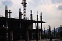 城市建筑工地图片