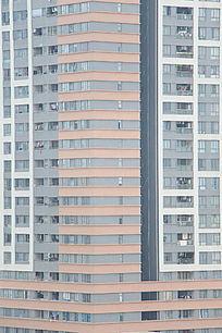 高高的居民房