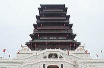 汉城湖大凤阁塔