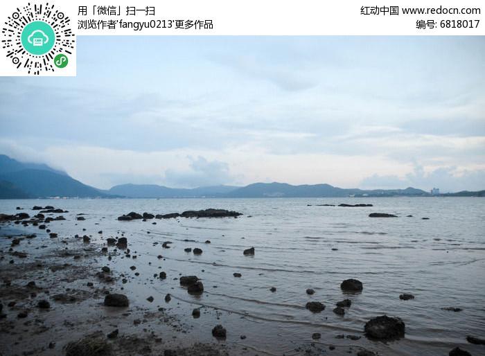 礁石林立图片