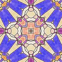 染色玻璃图案