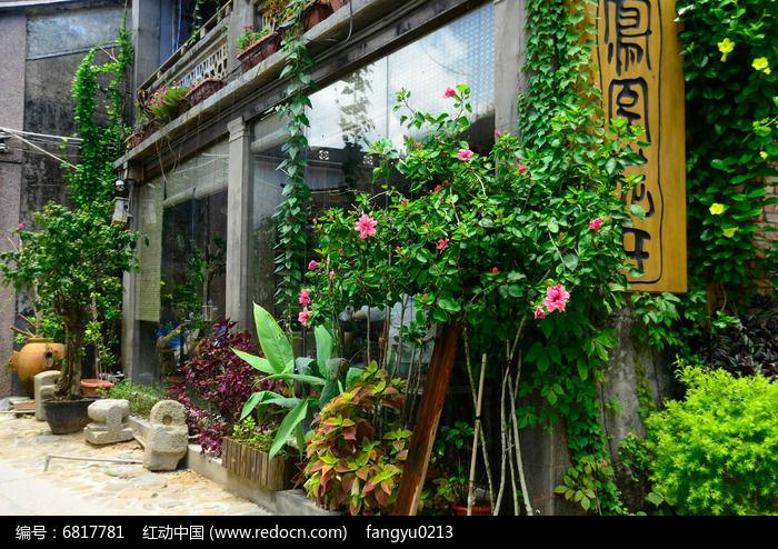 屋前花园图片