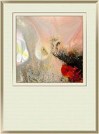 现代水墨流彩抽象画