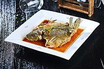 野生油爆黑丁鱼