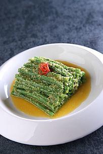 姜汁鲜豇豆