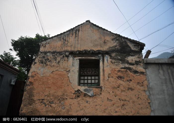 老式石头房屋图片