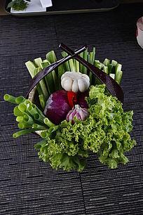 什锦蔬菜拼盘
