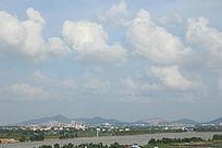 乡村河道风景