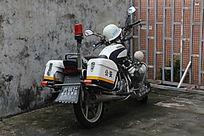 巡逻摩托车