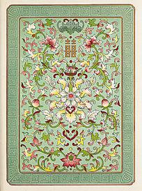 中国传统纹样花卉图案