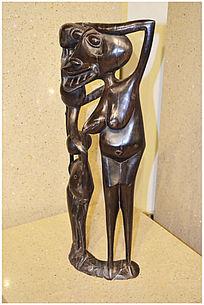 大头人物雕塑