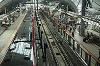 地铁站路面段景观