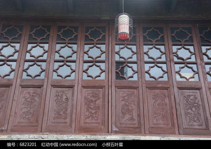 古典窗户图片