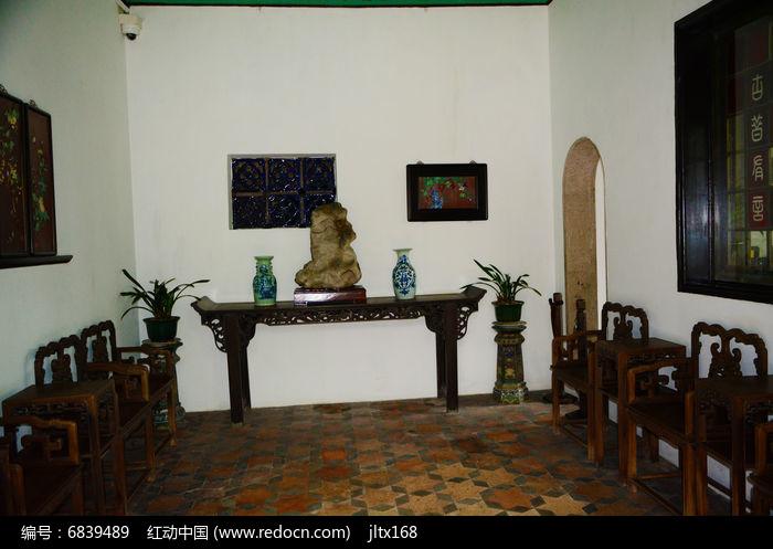 红木家居客厅