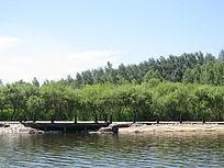 湖泊水库自然风景图片