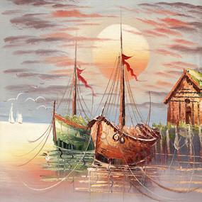 欧美风景油画