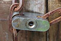 普通挂锁锁孔
