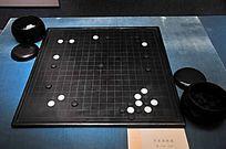 清代木围棋及棋盒