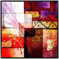 现代风格抽象装饰画