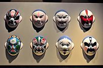 戏曲人物脸谱